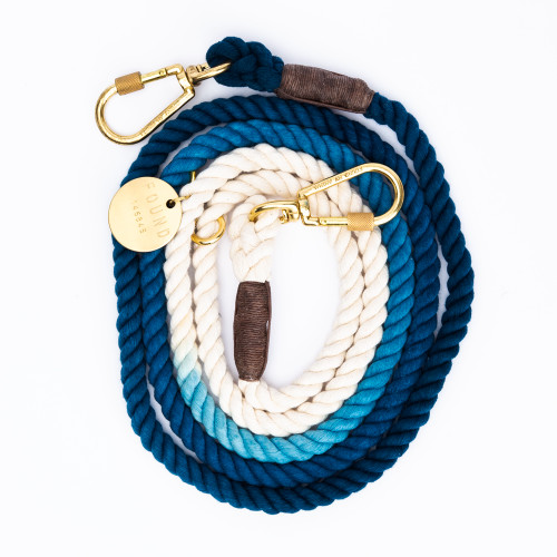Indigo Ombre Dog Leash by Found My Animal