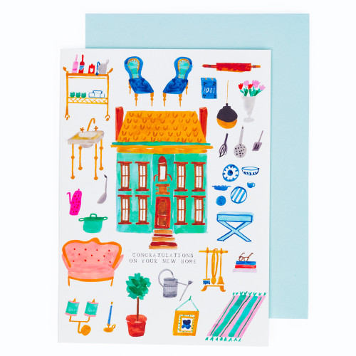 We Bought a Dollhouse Card by Mr Boddington's Studio