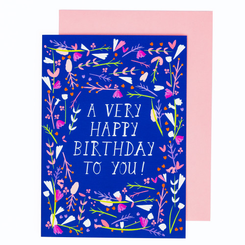 Happy Birthday Dear Friend Card by Mr. Boddington's Studio
