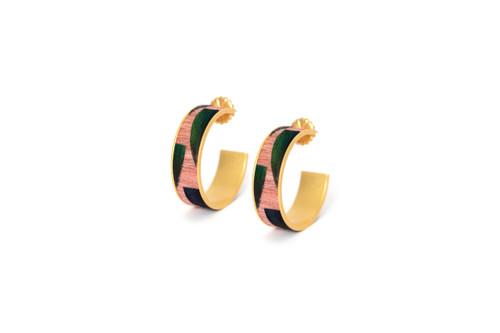 Paris Hoop Earrings by Brackish