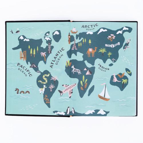 Globetrotter Address Book by Idlewild