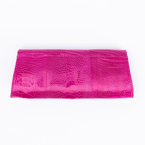 Fuchsia Jeweled Crusted Bee Eater Clutch by Norton and Hodges