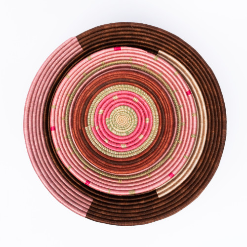 Chocolate & Pink Bowl by Amsha