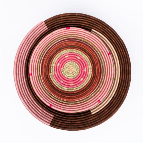 Magenta & Pink Speckled Bowls by Amsha