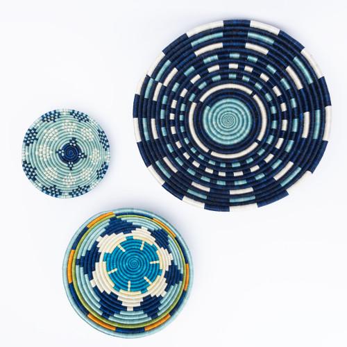 Blue Snowflake Bowl by Amsha