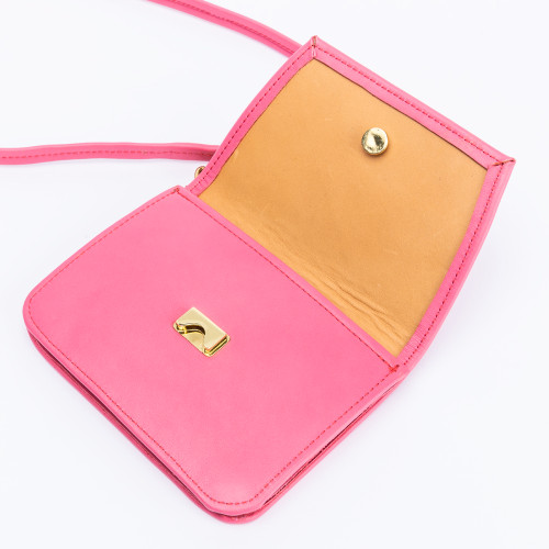 The Petite Crossbody in Bubblegum by Iron Rivet