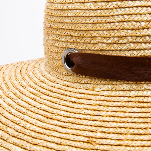 The Sarah Hat with Leather Strap by Norton & Hodges