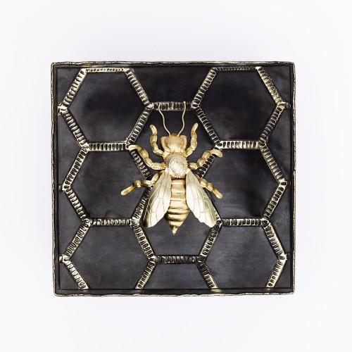Alpaca Bee Keepsake Box by Gogo Jewelry