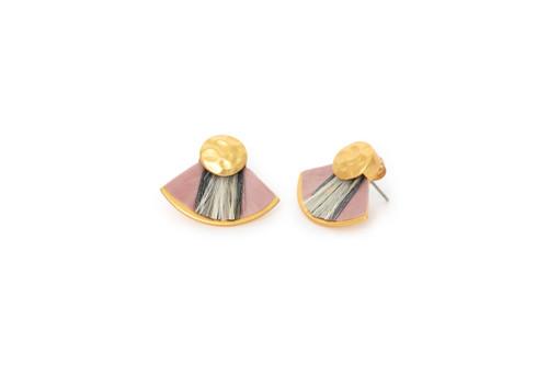 Blushing Bride Earrings by Brackish