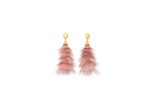 Snow Queen Statement Earrings by Brackish