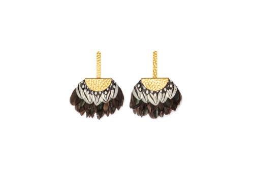 Lace Cap Earrings by Brackish