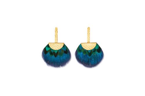 Tucket Blue Earrings by Brackish