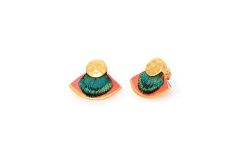 Diva Stud Earrings by Brackish