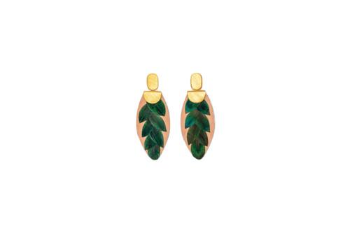 Verde Drop Earrings by Brackish