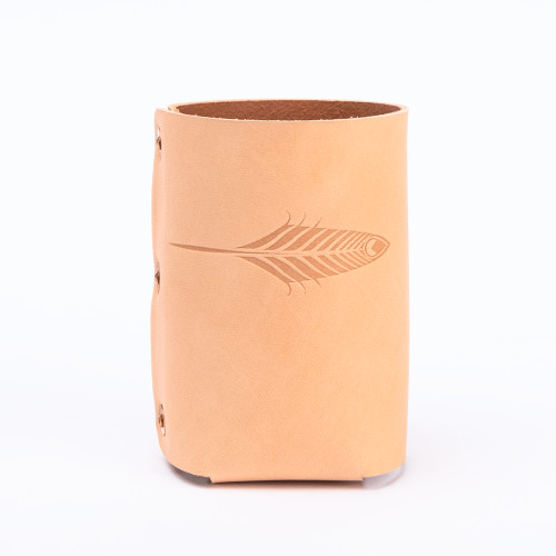 The Drink Sleeve in Natural by Iron Rivet