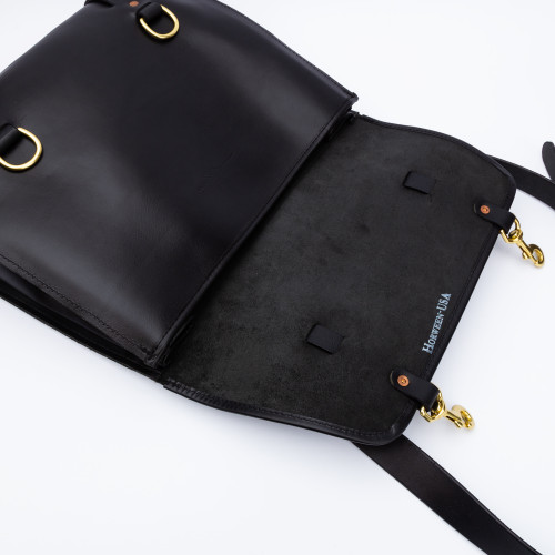 The Briefcase in Black by Iron Rivet