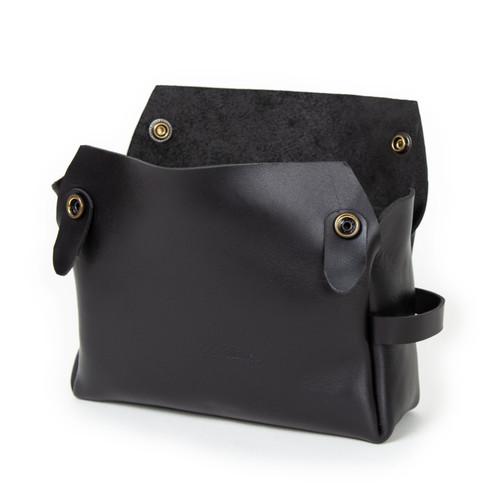 The Dopp Kit in Black by Iron Rivet