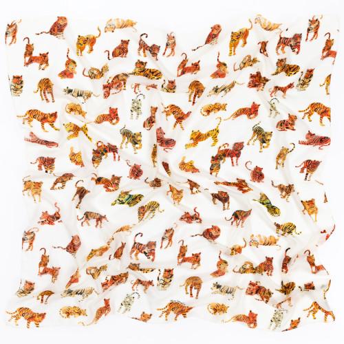 Tiger Scarf by Olivia Wendel