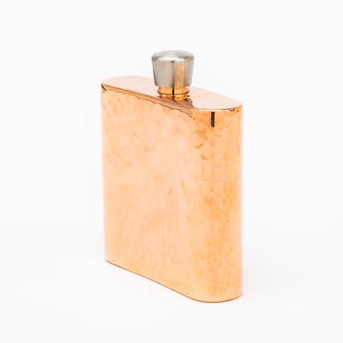 Espadin Copper Square Hip Flask by Sertodo Copper
