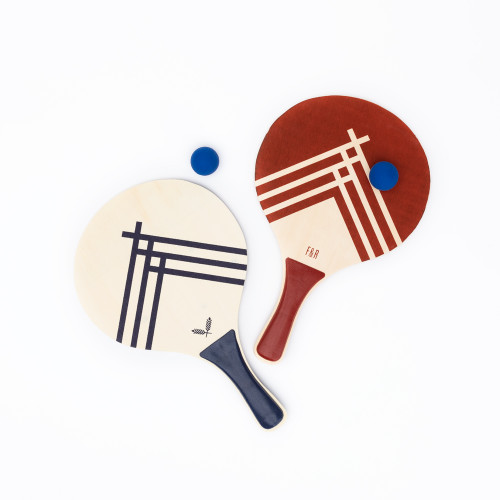 Wooden Paddle Ball Set by Foster & Rye