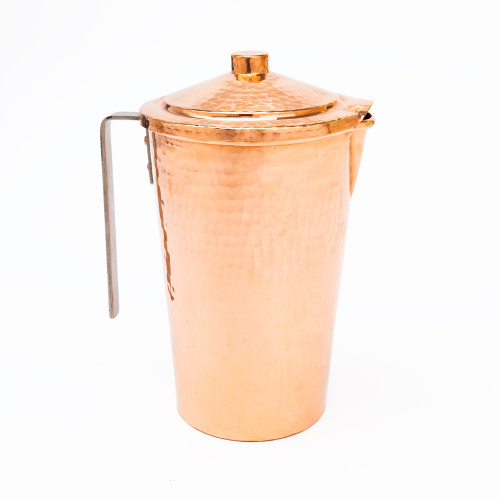 Gangotri Copper Water Pitcher with Lid by Sertodo Copper