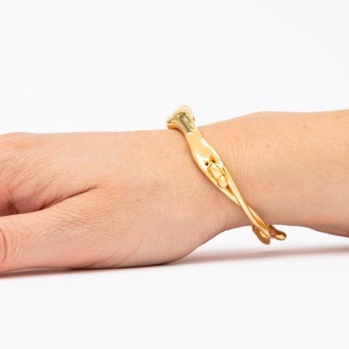 Gold Scarlett Bracelet by Minnie Lane