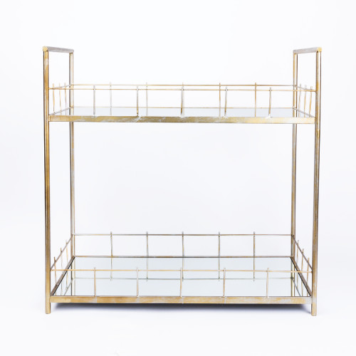 Carrie Bar Table in Brass by Statements by J