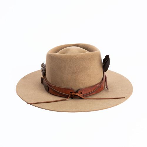 Mink Hat by ThunderVoice Hat Co.