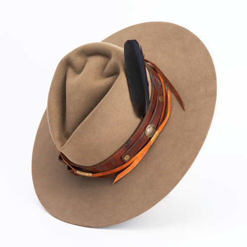 Tan Hat by ThunderVoice Hat Co.