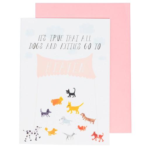 Doggies in Heaven Card by Mr. Boddington's Studio