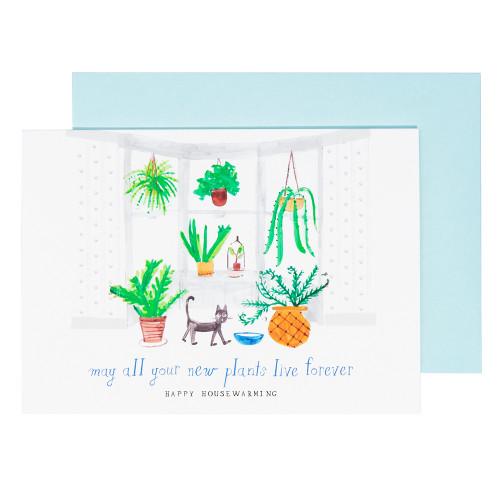 Another Fern Housewarming Card by Mr. Boddington's Studio