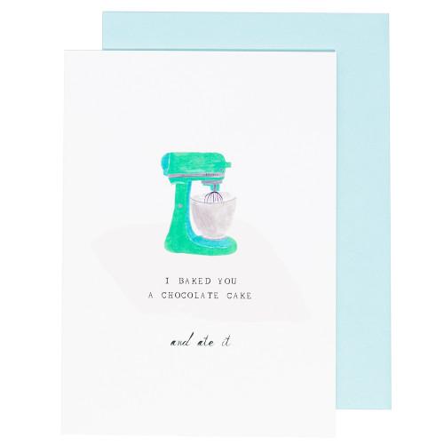 Stand Mixer Birthday Card by Mr. Boddington's Studio