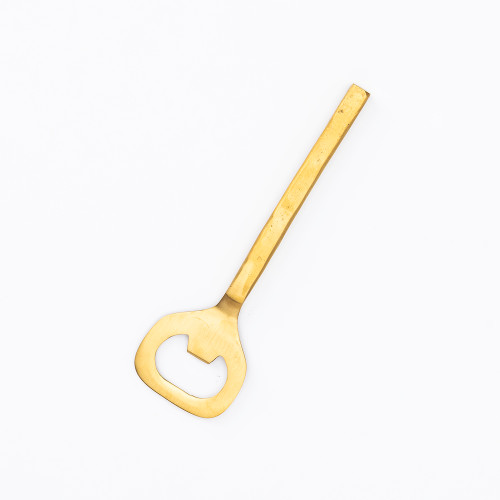 Forged Gold Bottle Opener by Be Home
