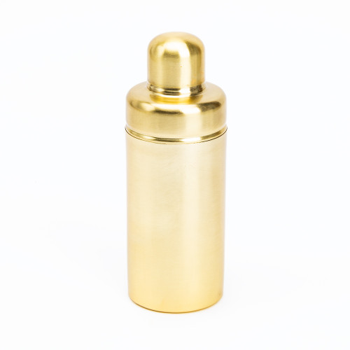 Matte Gold Cocktail Shaker by Be Home