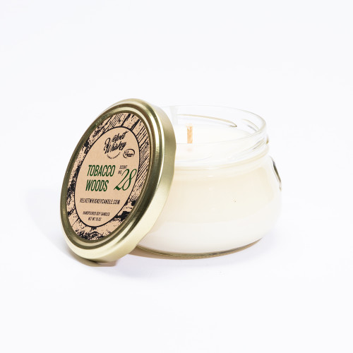 Tobacco Woods Candle by Velvet Whiskey Candle Co.