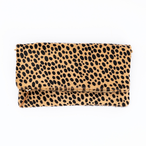 Currey Crossbody Bag in Cheetah by Ceri Hoover