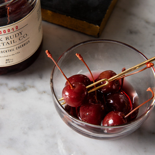 Bourbon Cherries (13.5 oz.) by Jack Rudy Cocktail Co.