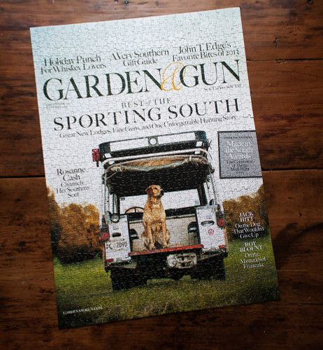 Garden & Gun Best of the Sporting South Cover Puzzle
