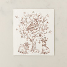 Partridge in a Pear Tree Gift Tag by Alexa Pulitzer