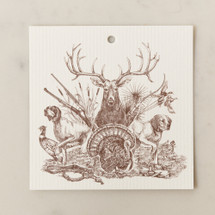 On The Hunt Gift Tag by Alexa Pulitzer