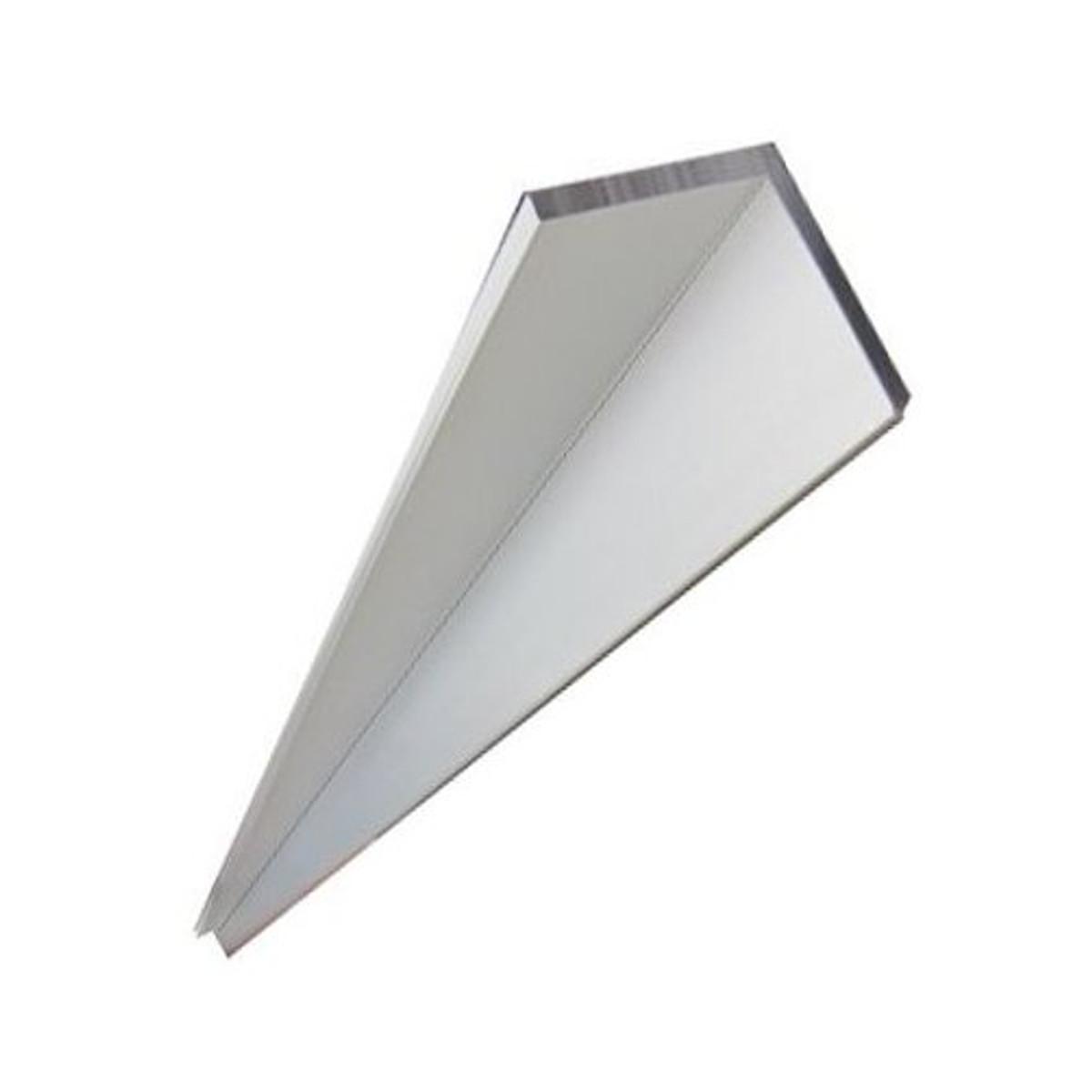 "Aluminum Angle 6061 T6 1/"" x 1/"" x 1//8/"" wall x 36/"""