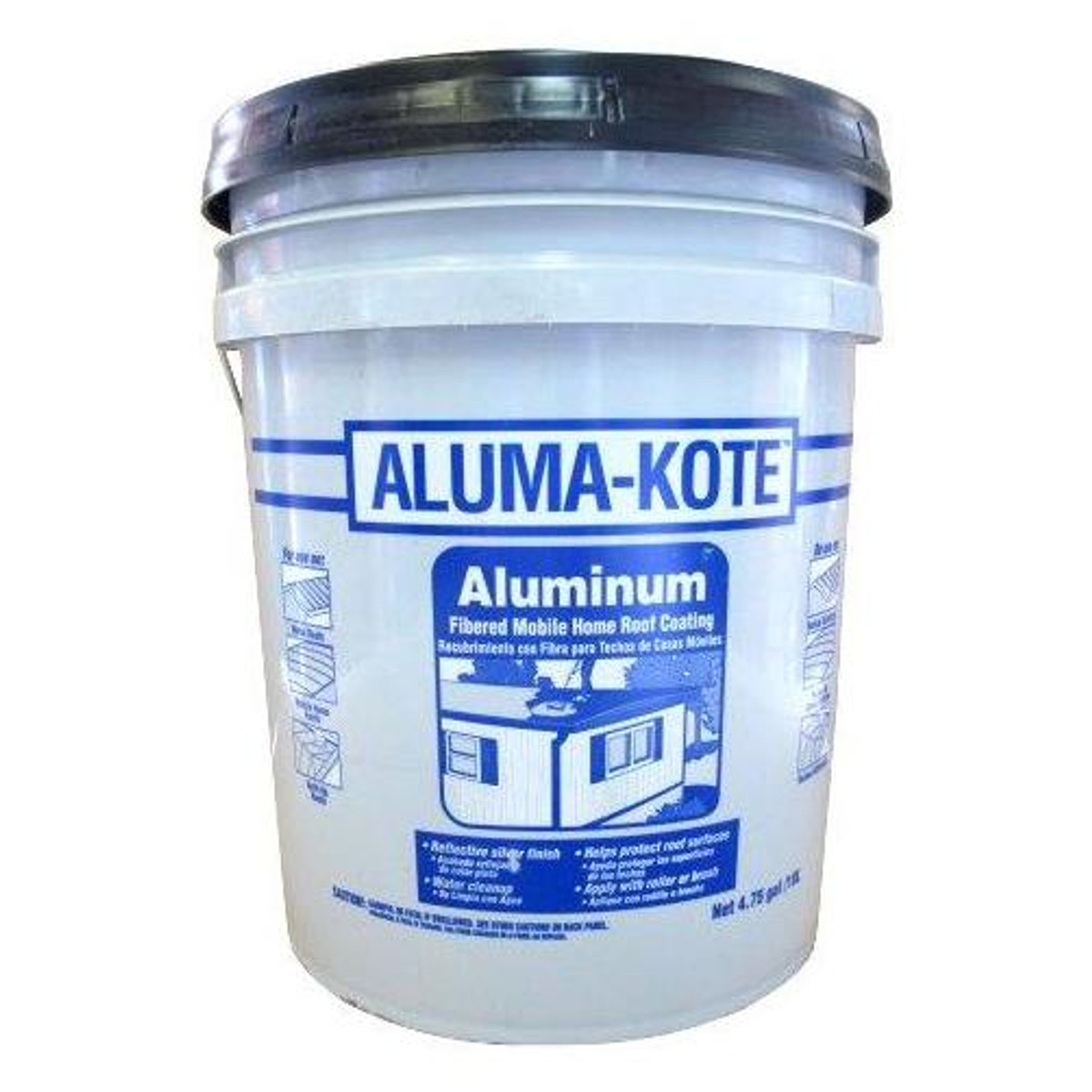 4 75 Gallon Aluma Kote Aluminum Roof Paint Available For Local Pick Up Only Greschlers Hardware