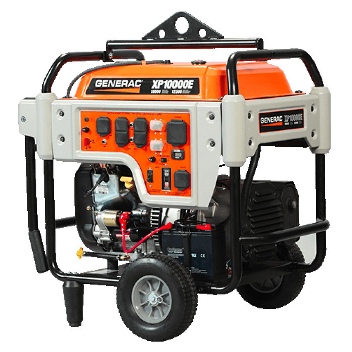 Generac 10,000 Watt 42A Gasoline Powered Electric Start Portable Generator - (Available For Local Pick Up Only)