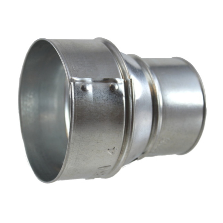 """4"""" X 3"""" Galvanized Stove Pipe Reducer - (Available For Local Pick Up Only)"""