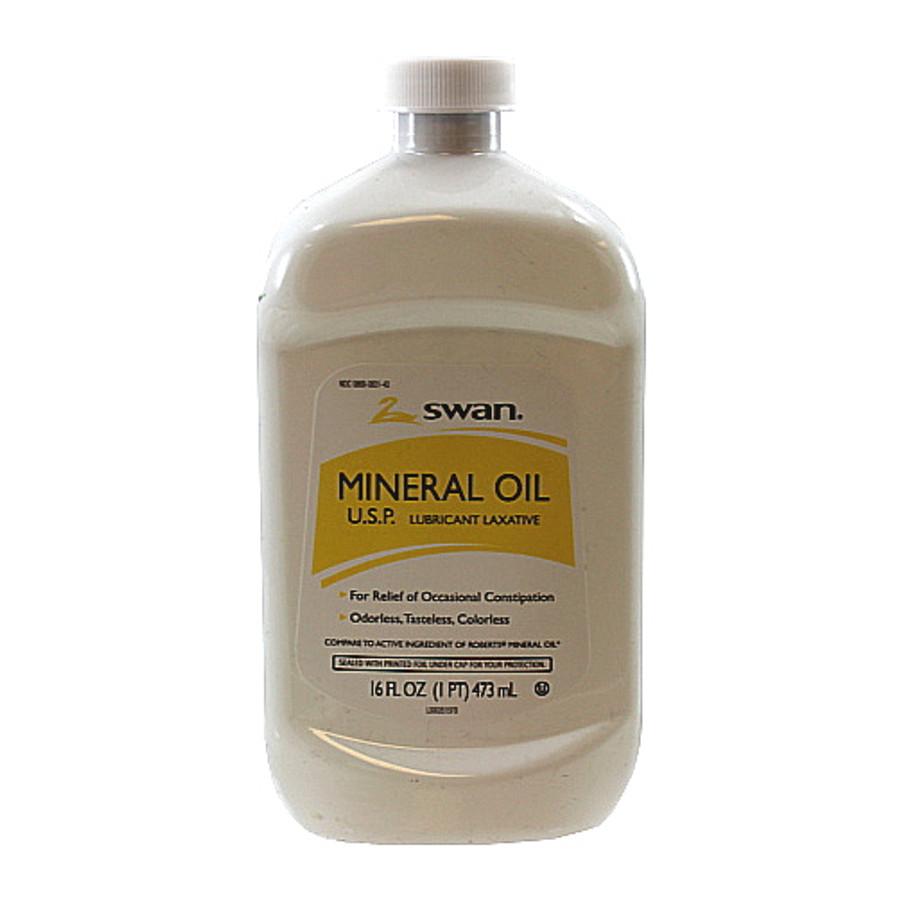 16 oz. Mineral Oil U.S.P. Lubricant Laxative