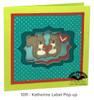 Katherine Label Pop-up Die Set