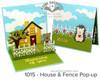 House & Fence Pop-Up