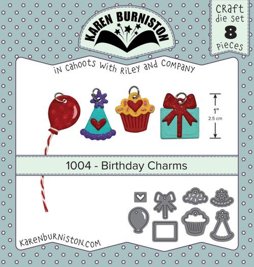 Birthday Charms Die Set