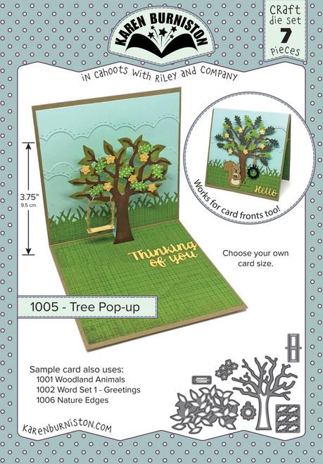 Tree Pop-Up Die Set