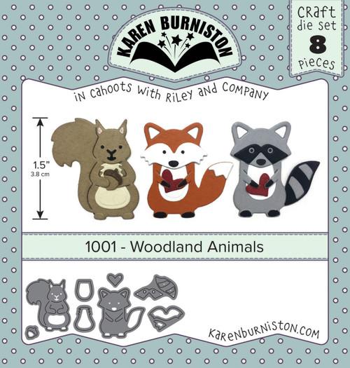 Woodland Animals Die Set